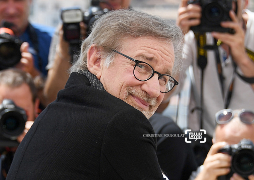 استیون اسپیلبرگ در فتوکال فیلم «غول بزرگ مهربان»(BFG) در جشنواره فیلم کن 2016