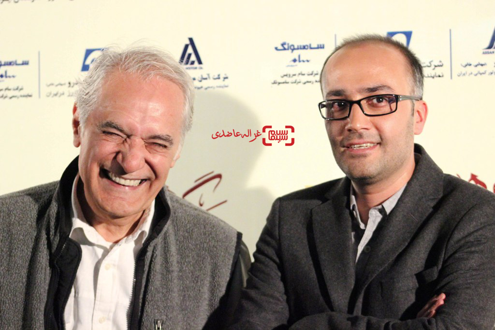 سيدروحالله حجازی و محمود کلاری در اکران خصوصی «مرگ ماهی»