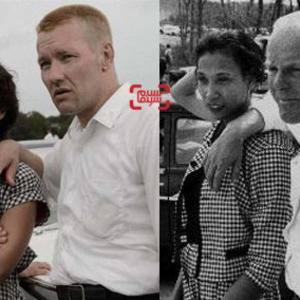 جوئل ادگورتون و راث نگا در نقش میلدرد و ریچارد لاوینگ در فیلم «دوست داشتن»(loving)