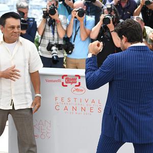 فتوکال فیلم «دست های سنگی»(Hands of Stone) در شصت و نهمین جشنواره فیلم کن