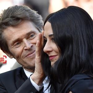 ویلم دفو و همسرش جادا کولاگرانده در فتوکال فیلم «فارغ التحصیلی»(Graduation) در جشنواره فیلم کن 2016