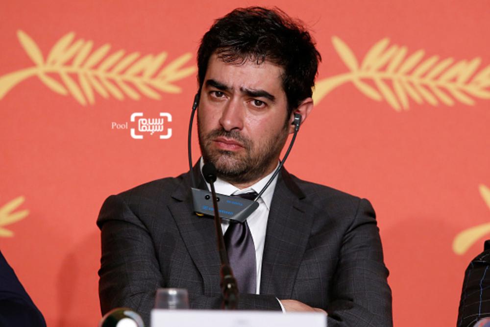 شهاب حسینی در نشست خبری فیلم «فروشنده» در شصت و نهمین جشنواره فیلم کن2016