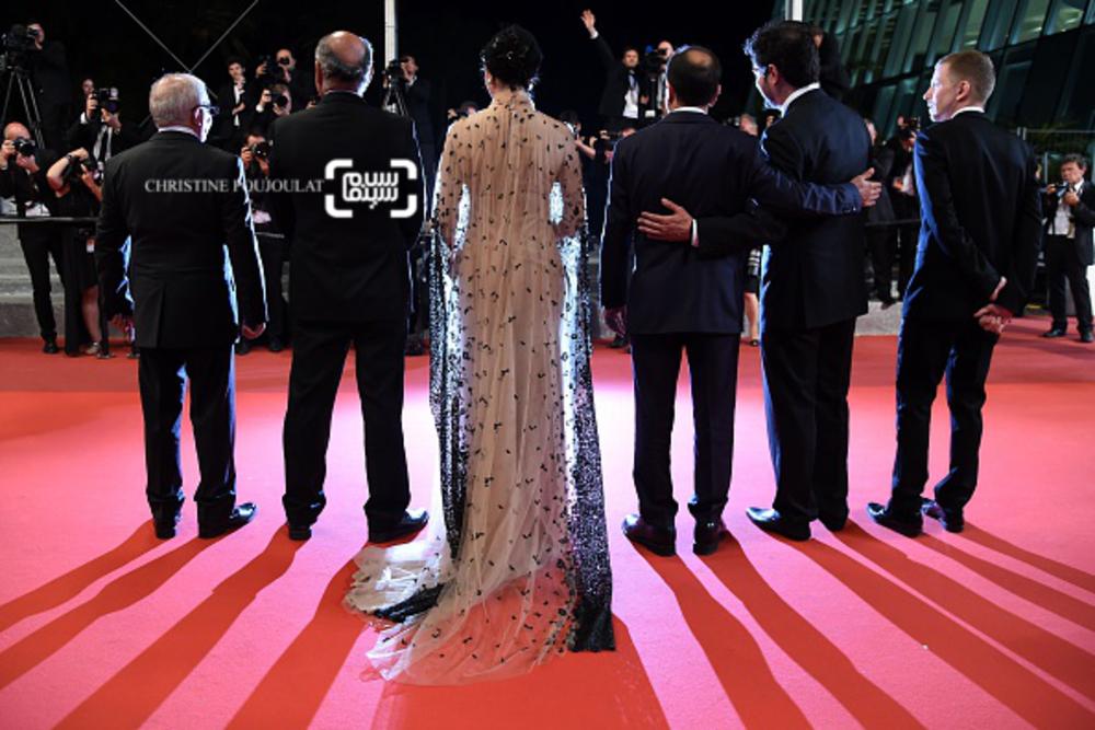 فرش قرمز فیلم «فروشنده»(the salesman) در شصت و نهمین جشنواره فیلم کن2016