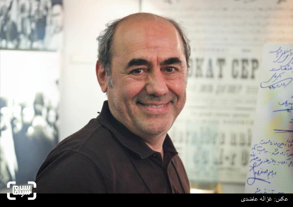 کمال تبریزی در اکران خصوصی فیلم «دونده زمین»
