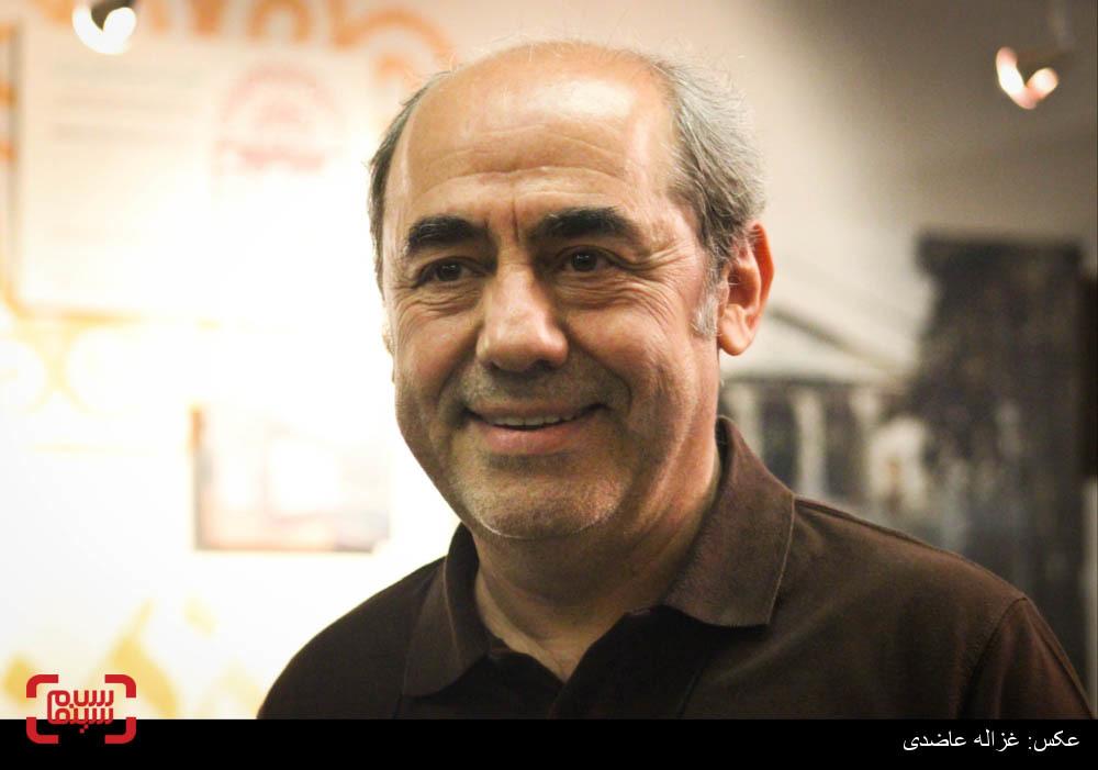کمال تبریزی در اکران فیلم «دونده زمین»
