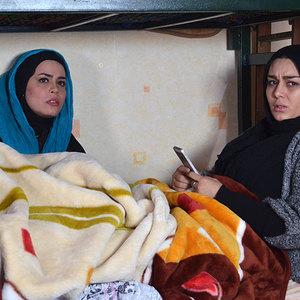 سحر قریشی و ملیکا شریفی نیا در فیلم «پانسیون دختران»