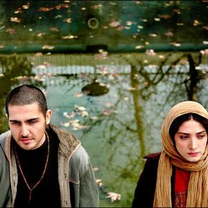 """مینا ساداتی و محمدرضا غفاری در فیلم سینمایی """" برف"""""""