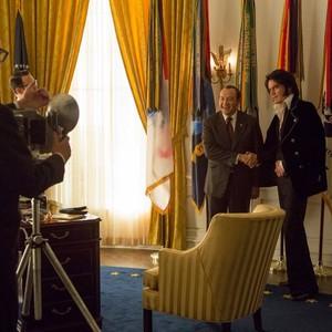 مایکل شانون و کوین اسپیسی در فیلم «الویس و نیکسون»(Elvis and Nixon)