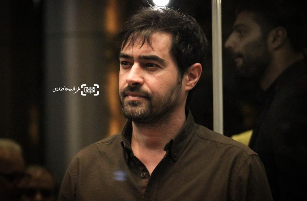 شهاب حسینی در نشست خبری فیلم فروشنده(the sales man)