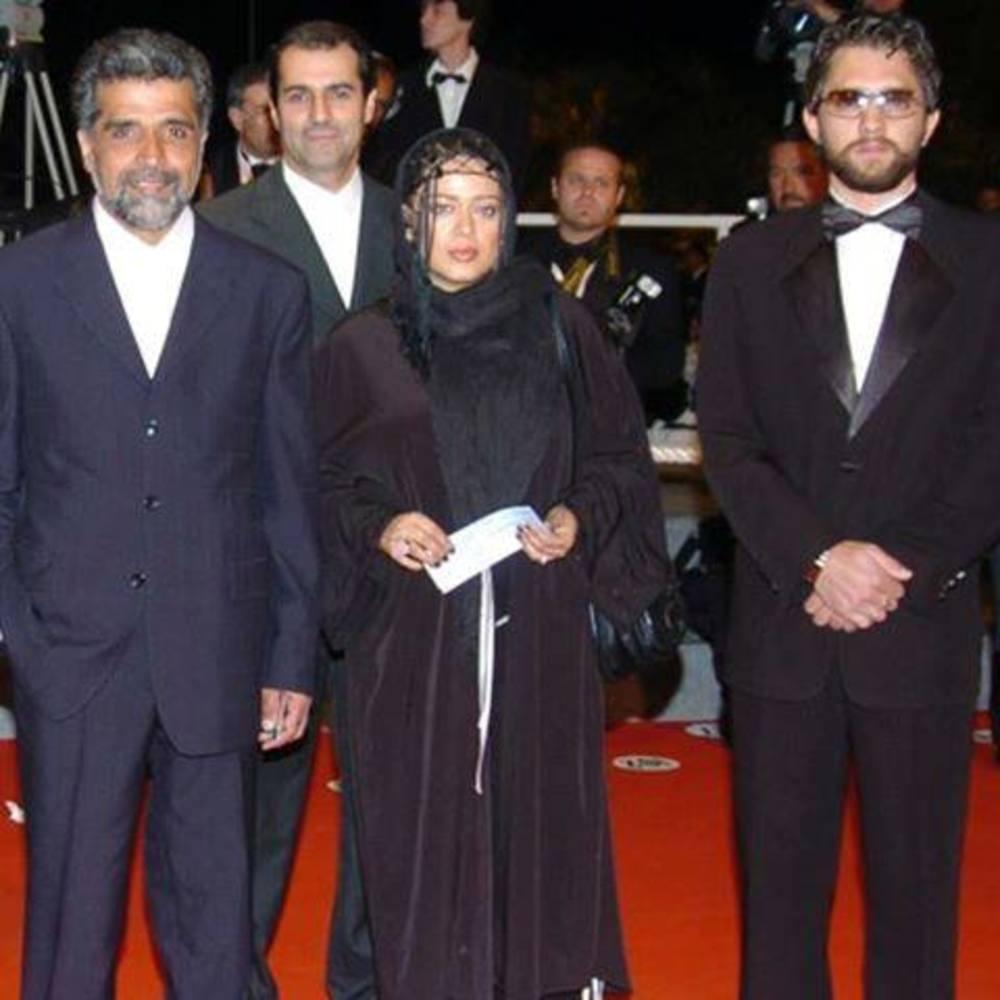 بهرام رادان، بهاره رهنما و بهروز افخمی در پنجاه و هفتمین جشنواره فیلم کن سال 1383
