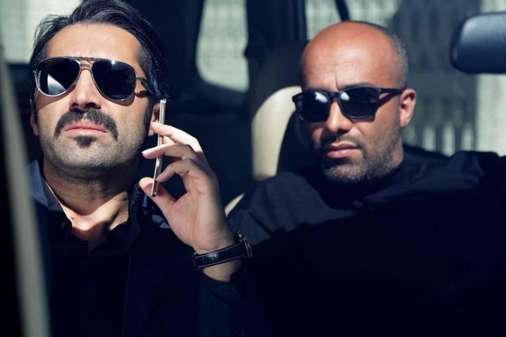 هادی کاظمی و پیام احمدی نیا در نمایی از سریال «آسپرین»