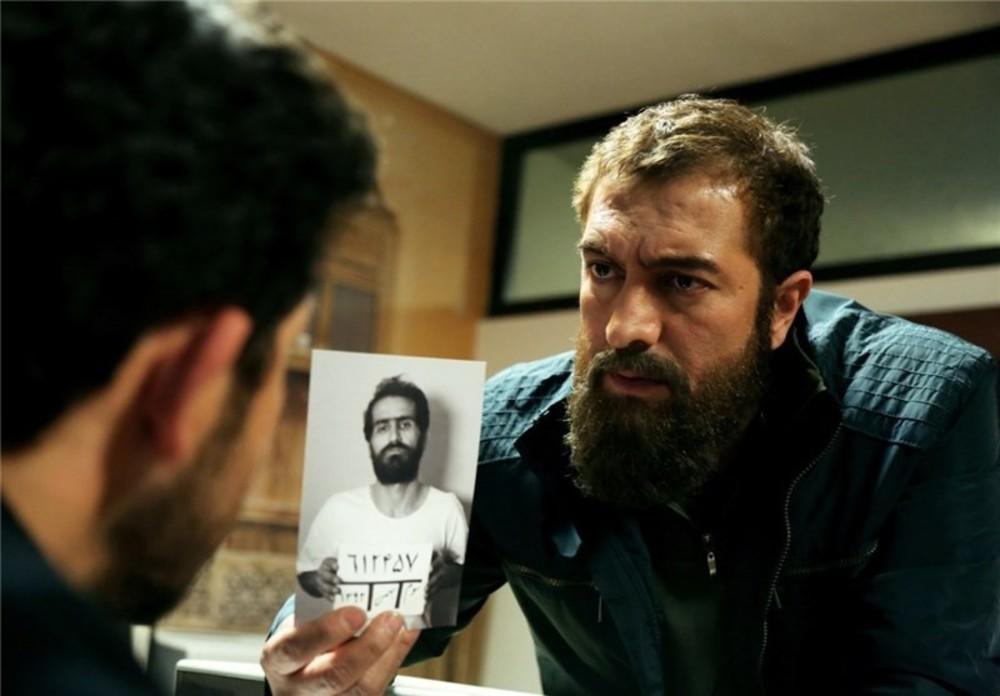 مجید صالحی در نمایی از سریال «آسپرین»