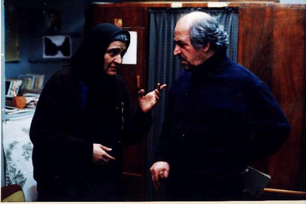 گلاب آدینه و محسن قاضی مرادی در فیلم «زیر پوست شهر»