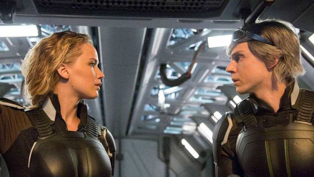 فیلم «مردان ایکس: آپوکالیپس»(X-Men: Apocalypse) با بازی جنیفر لارنس و ایوان پیترز