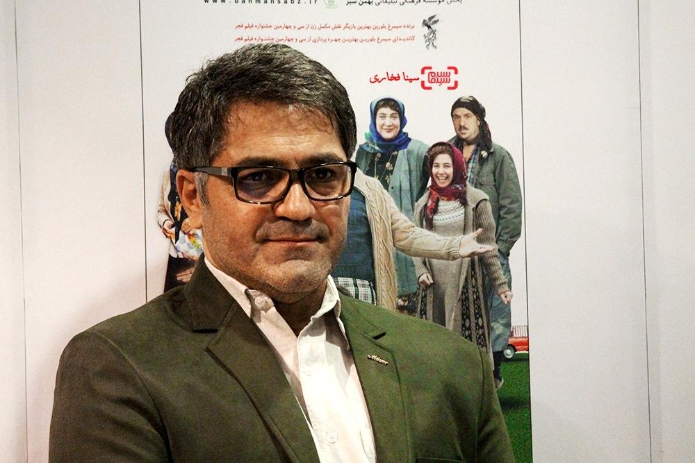 سید امیر پروین حسینی در اکران خصوصی فیلم «زاپاس»