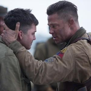 فیلم «خشم»(Fury) با بازی برد پیت و لوگن لرمان