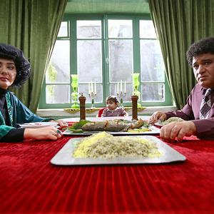 هانیه توسلی و نادر سلیمانی در فیلم نهنگ عنبر