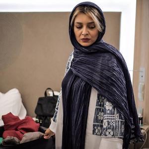 ساره بیات در فیلم «لابی» ساخته محمد پرویزی