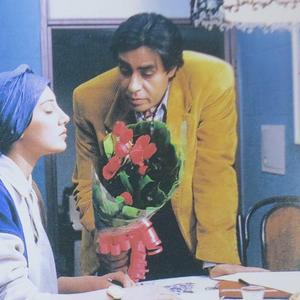 خسرو شکیبایی و هدیه تهرانی در فیلم «کاغذ بی خط»