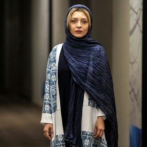 ساره بیات در نمایی از فیلم «لابی» ساخته محمد پرویزی