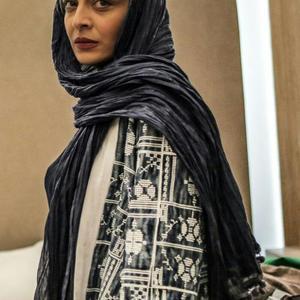 ساره بیات در نمایی از «لابی» ساخته محمد پرویزی