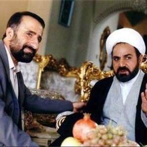 پرویز پرستویی و مهران رجبی در فیلم «مارمولک»