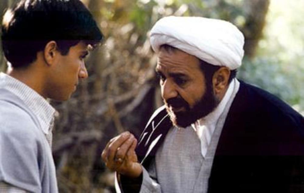 پرویز پرستویی و حسین سلیمانی در فیلم «مارمولک»