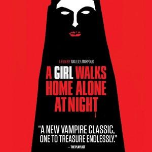 پوستر فیلم «دختری در شب تنها به خانه می رود»