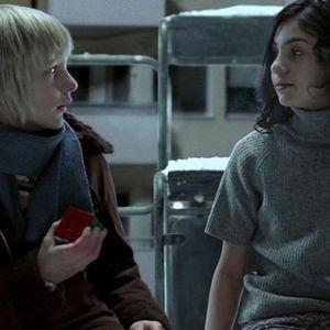 کر هدبرنت و لینا لی اندرسون در فیلم «بگذار فرد درست وارد شود»(Let the Right One In)