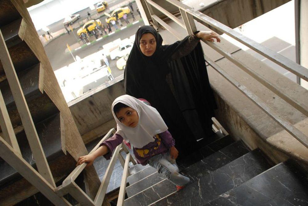 ساره بیات و کیمیا حسینی در فیلم «جدایی نادر از سیمین»