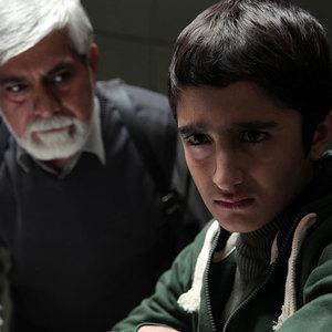 علیرضا مظفری و حسین پاکدل در فیلم آزادی مشروط