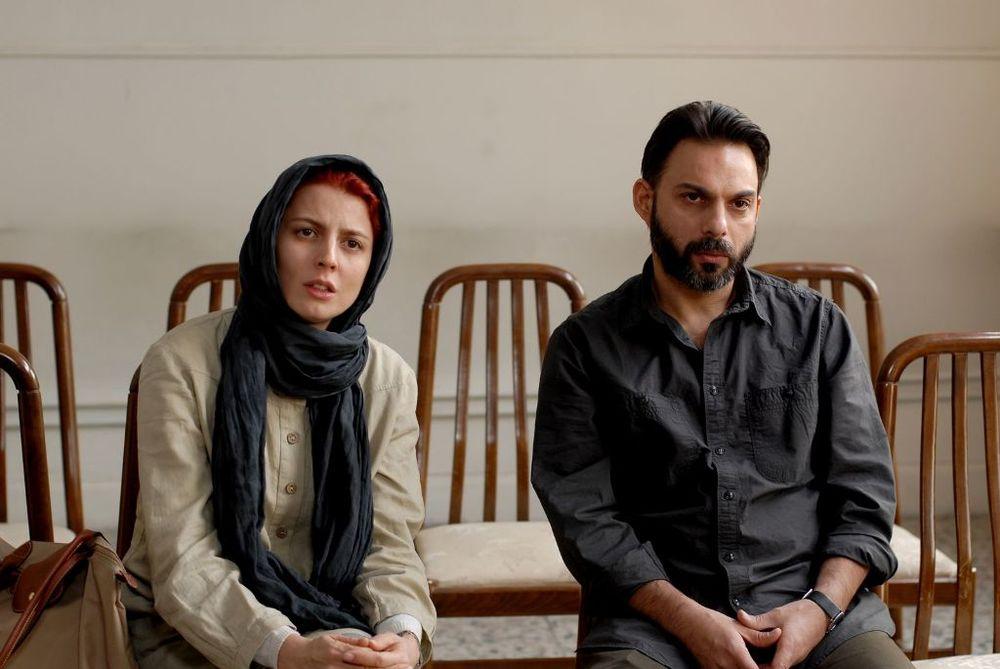 لیلا حاتمی و پیمان معادی در فیلم «جدایی نادر از سیمین» ساخته اصغر فرهادی