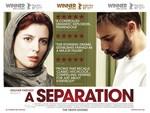 پوستر فیلم «جدایی نادر از سیمین» با بازی پیمان معادی و لیلا حاتمی