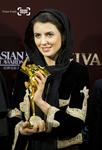 لیلا حاتمی بازیگر فیلم «جدایی نادر از سیمین» در ششمین جشنواره فیلم آسیا