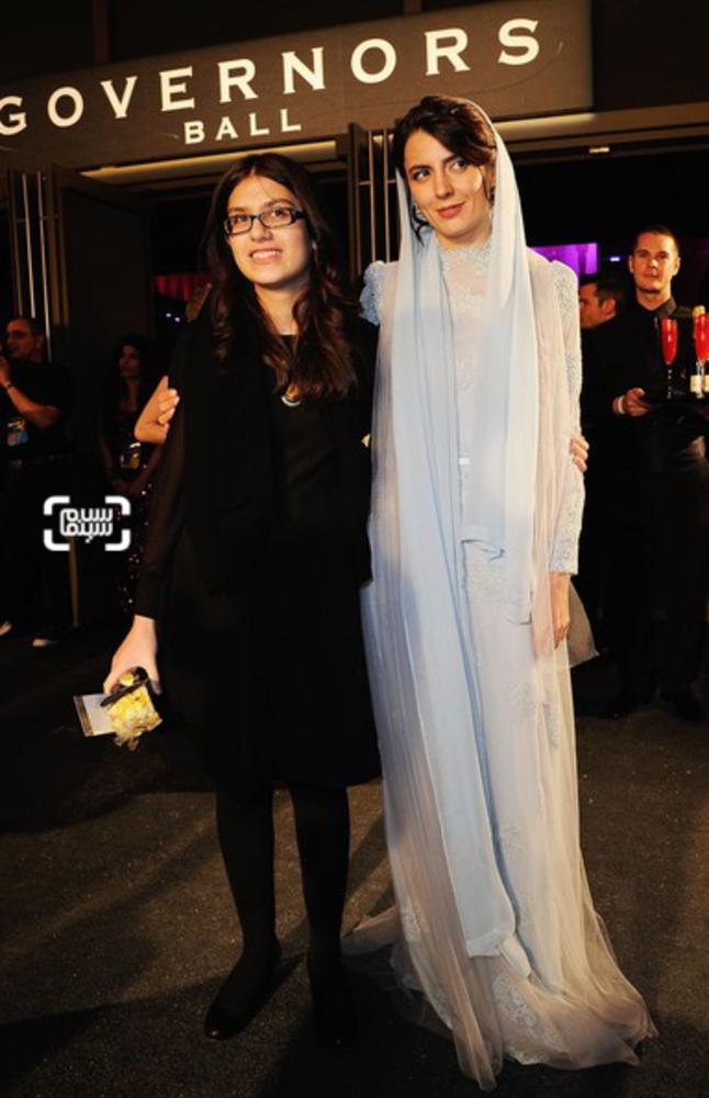 لیلا حاتمی و سارینا فرهادی در اسکار ۲۰۱۲