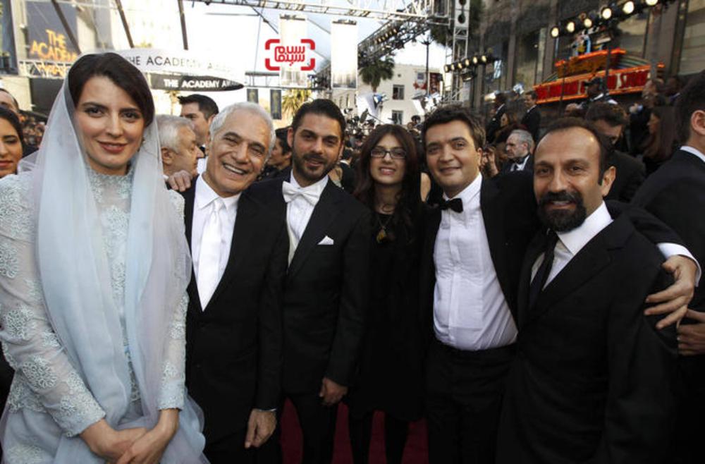 عوامل فیلم «جدایی نادر از سیمین» در اسکار ۲۰۱۲