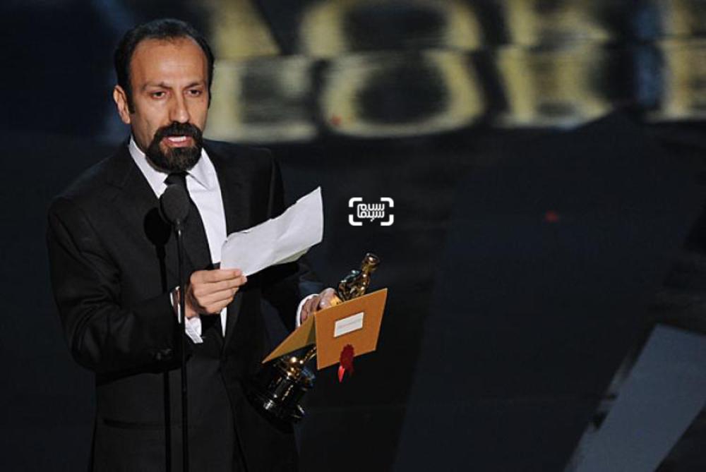 اصغر فرهادی برنده اسکار بهترین فیلم خارجی زبان ۲۰۱۲ برای «جدایی نادر از سیمین»