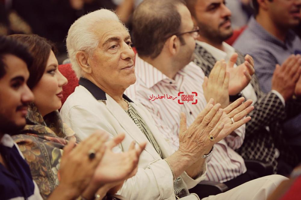 محمد زرین دست در اکران خصوصی فیلم «حریر»