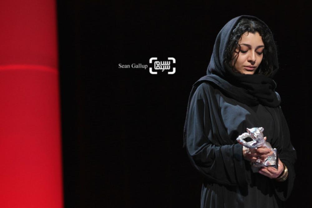 ساره بیات در اختتامیه جشنواره فیلم برلین 2011