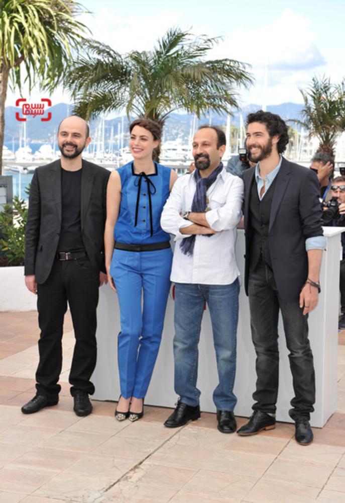 عوامل فیلم «گذشته» اصغر فرهادی در مراسم فتوکال جشنواره فیلم کن 2013