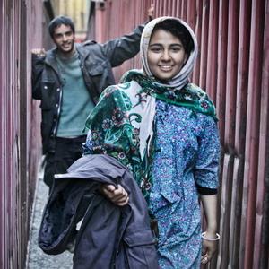 حسیبا ابراهیمی و ساعد سهیلی در فیلم چند متر مکعب عشق جمشید محمودی