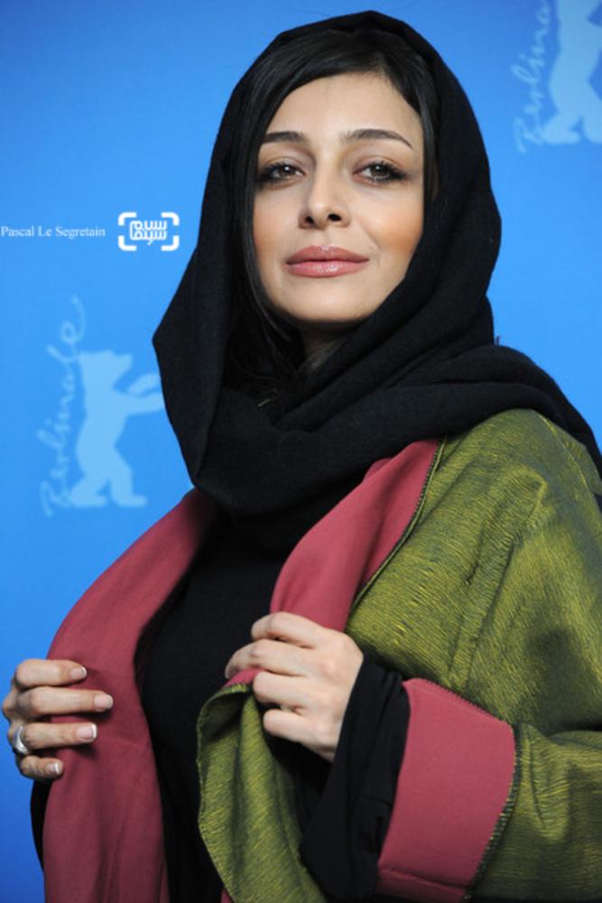 ساره بیات در فتوکال فیلم «جدايي نادر از سیمین» در شصت و یکمین جشنواره فیلم برلین