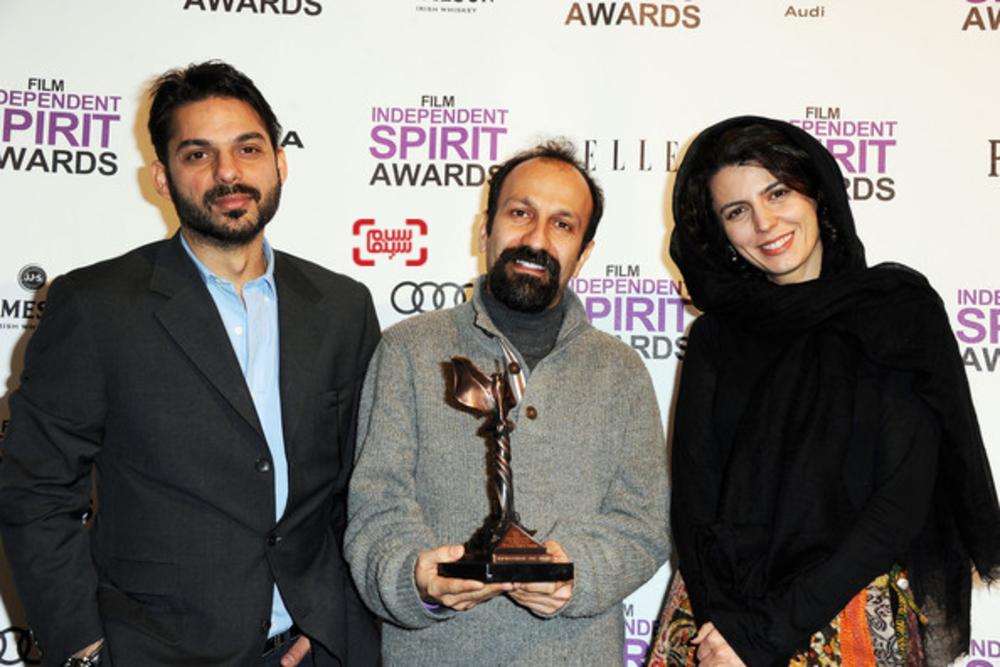فیلم «جدايي نادر از سیمین» برنده جایزه بهترین فیلم بینالملل ایندیپندنت اسپیریت 2012