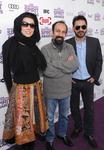 پیمان معادی، اصغر فرهادی و لیلا حاتمی، عوامل فیلم «جدايي نادر از سیمین» در مراسم ایندیپندنت اسپیریت 2012