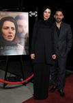 پیمان معادی و لیلا حاتمی در مهمانی نامزدهای فیلم های خارجی زبان اسکار2012