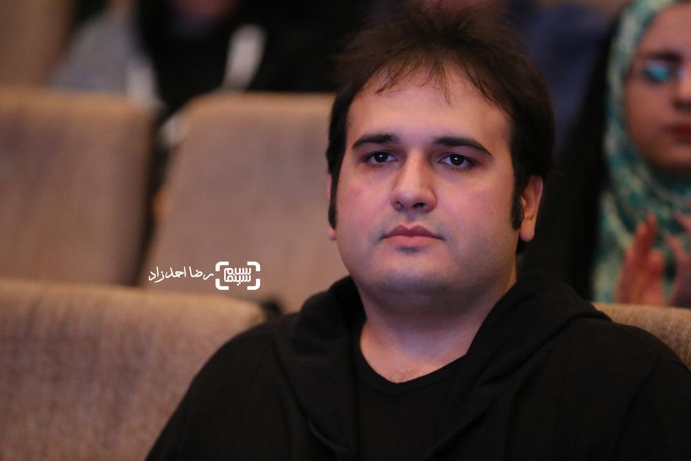 رضا درمیشیان کارگردان فیلم لانتوری در اختتامیه نخستین جشنواره فیلم سلامت