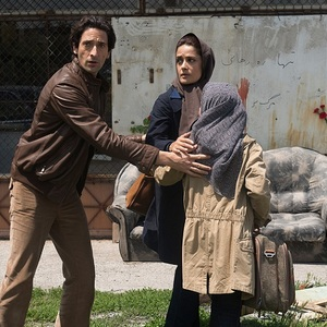 آدرین برودی و سلما هایک در فیلم «سپتامبرهای شیراز»(Septembers of Shiraz)