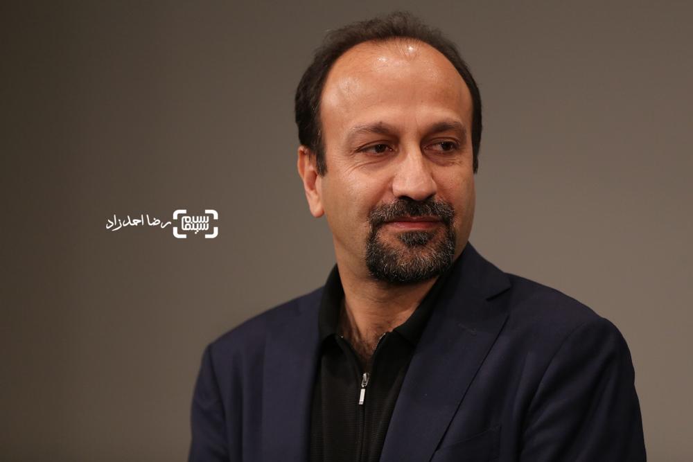اصغر فرهادی در اولین اکران عمومی «فروشنده» در سینما کوروش