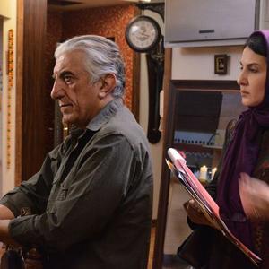 رضا کیانیان و فاطمه گودرزی در فیلم «سایه»