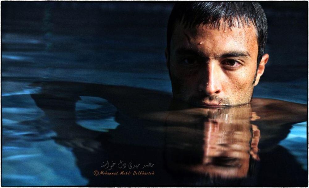 امیر جدیدی در نمایی از فیلم «قاتل اهلی» مسعود كيميايى